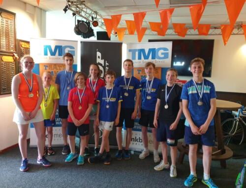 'MeerSquash & Activity domineert TMG Jeugdcompetitie speelronde 2