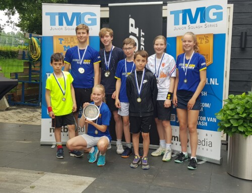 'MeerSquash & Activity pakt clubtitel bij finaledag TMG Jeugdcompetitie