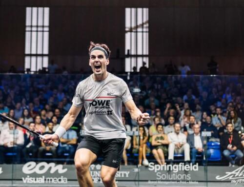 'MeerSquasher Paul Coll wint British Open Squash 2021